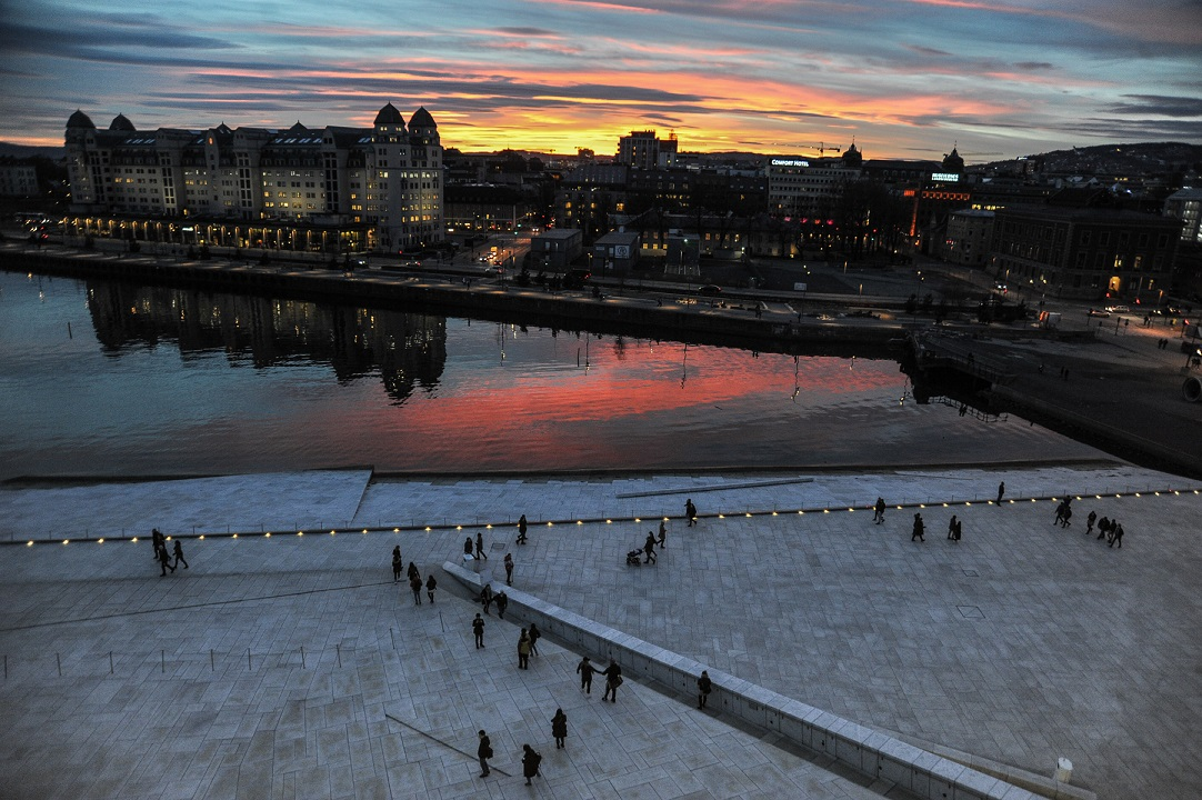 Oslo, Operahaus View