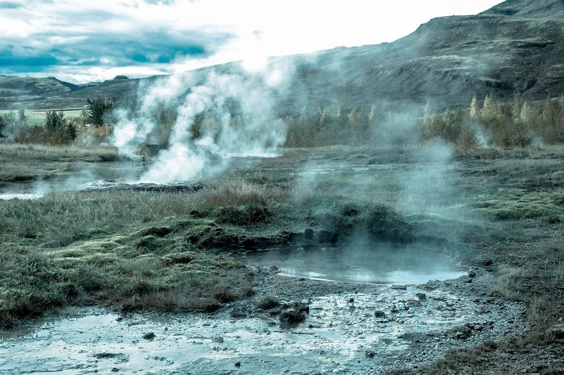 Islandia, Geysir, Strokkur