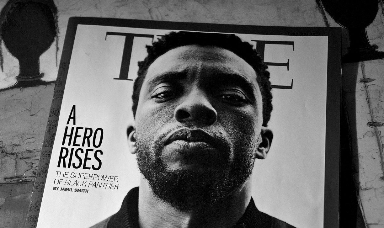 Black Panther Chadwick Boseman Time magazine Cover