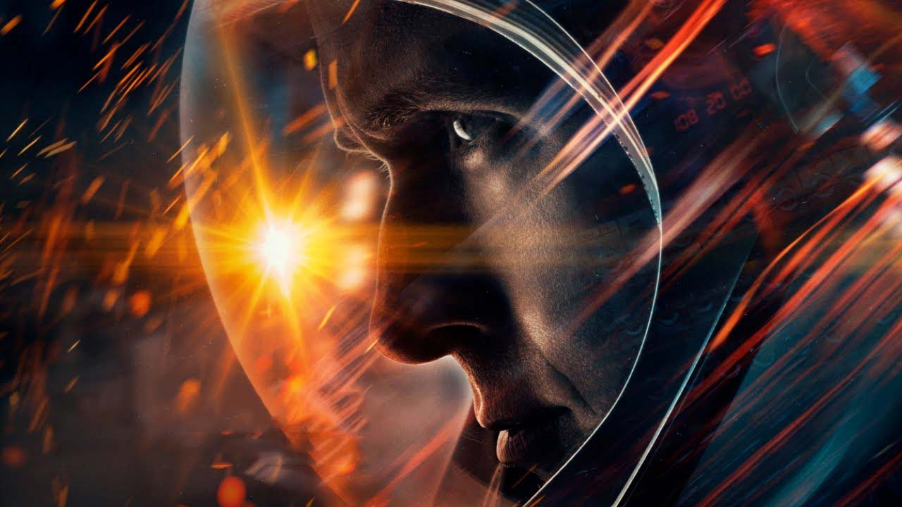 First Man poster Ryan Gosling