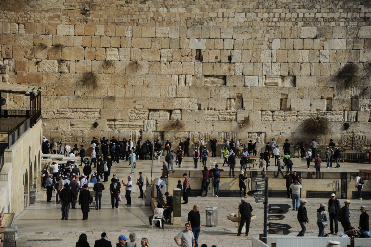 Izrael, Jerozolima, Ściana płaczu, Jerusalem, Western Wall