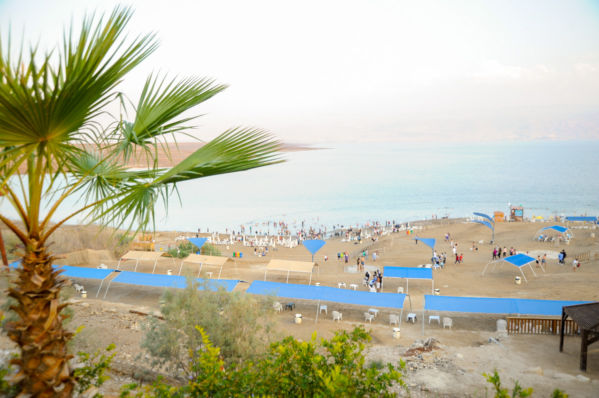 Dead Sea beach, Israel, Palestine, Morze martwe Izrael