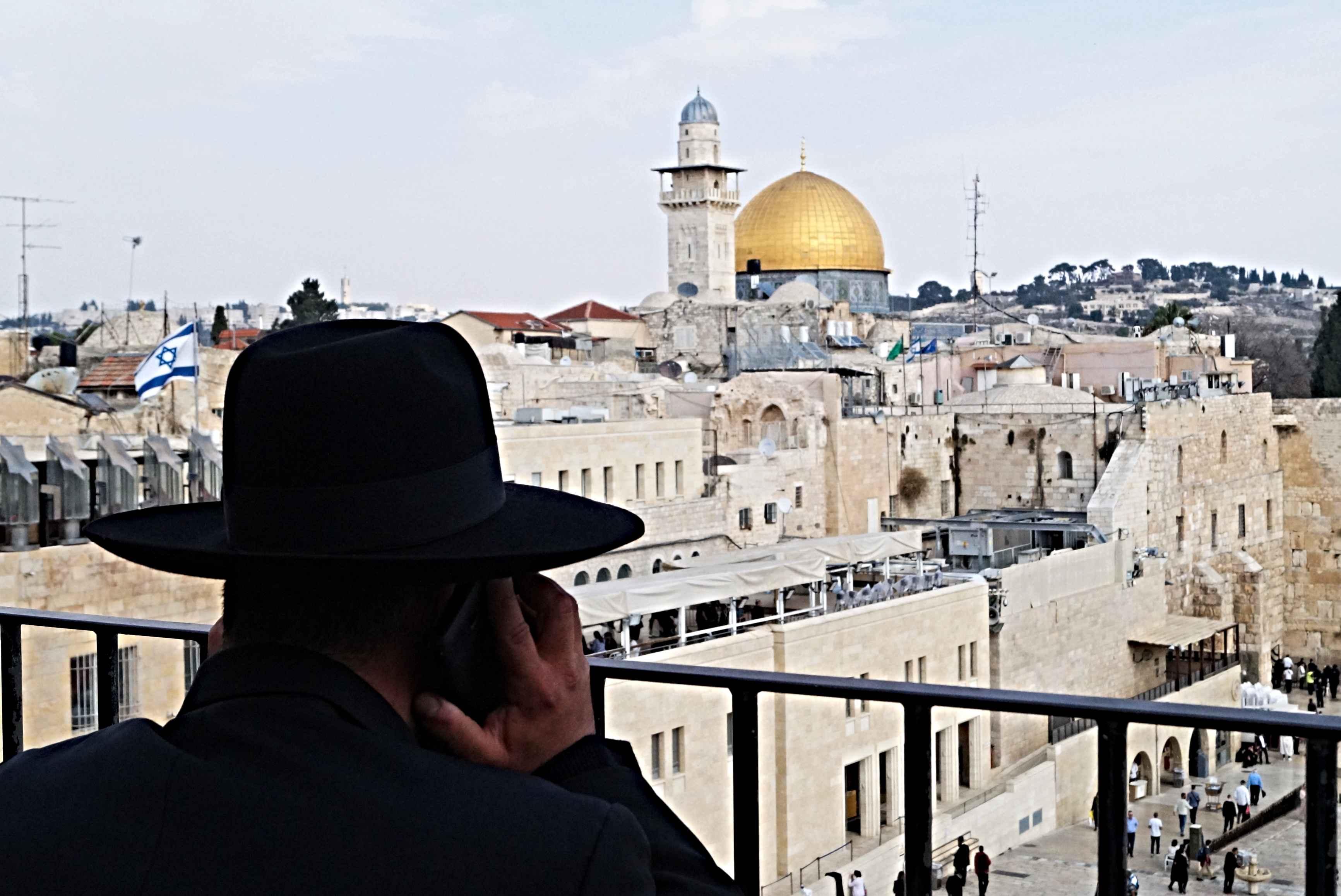 Jerozolima, Izrael, Kopuła na skale