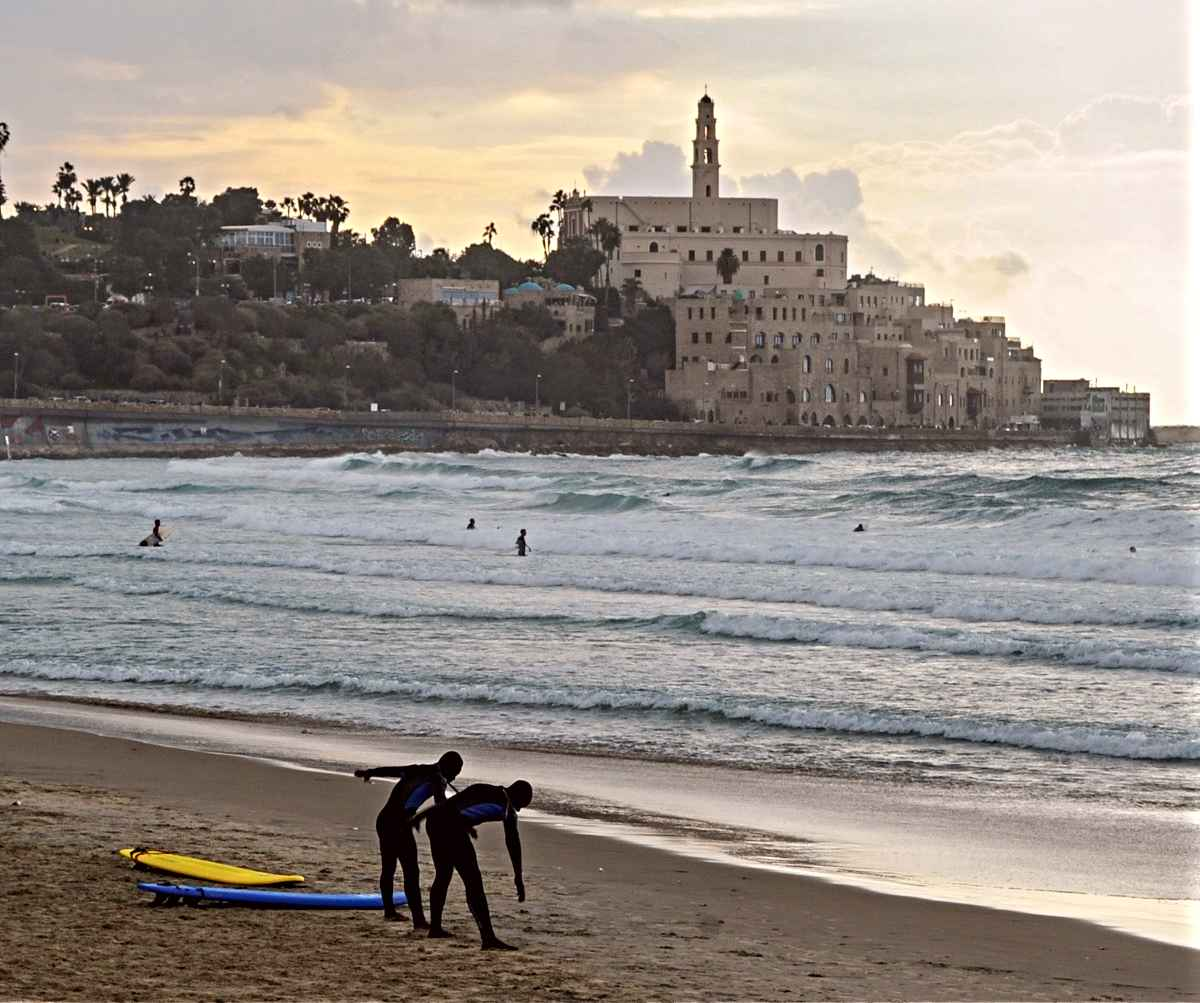 tel aviv beaches old jaffa